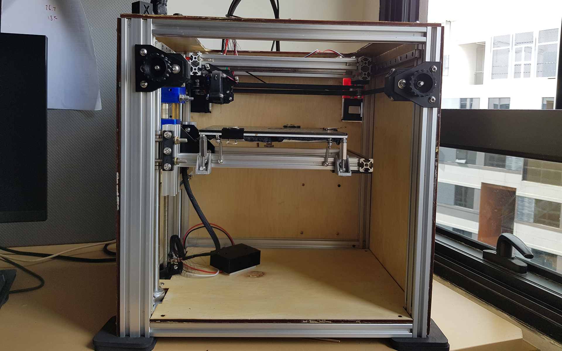 Self-made 3D printer